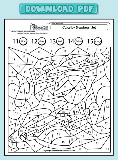 Colour By Number Division Division Worksheets Standards Met And