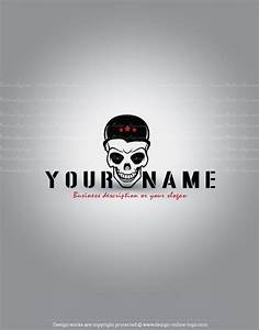 Exclusive Design: Skull Logo + Compatible FREE Business Card