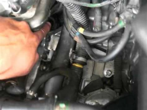 volvo  crank rpm sensor youtube