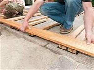 Holz Für Balkonboden : holzterrasse selber bauen bauanleitung f r holzterrassen ~ Markanthonyermac.com Haus und Dekorationen