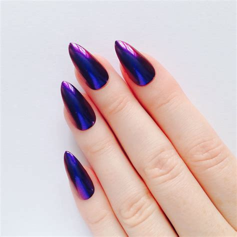 pointy nail designs pointy and posh top 65 amazing stiletto nails