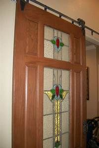 custom wood doors interior and exterior custom doors With barn door with stained glass