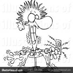 11271 electrician clipart black and white electrician clipart 439852 illustration by toonaday