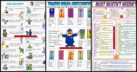 modal verbs esl printable worksheets  exercises