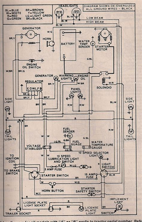 Ford Tractor Starter Wiring Diagram