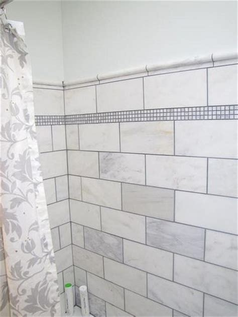 4x8 Subway Tile Home Depot by 12x12 Marble Tile Cut In Half To Make 6x12 Large Subway
