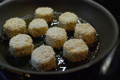 Oil Cheese Truffle Balls Fried Reality Mac
