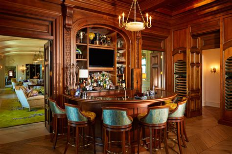 Residential Bars by The Country Mansion Traditional Home Bar Ta By