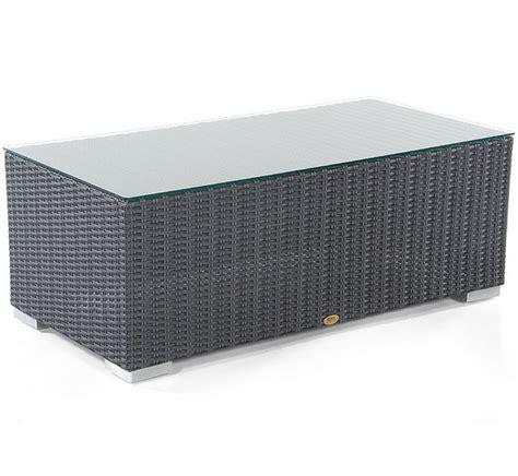 polyrattan tisch 60x60 sonnenpartner lounge couchtisch 60x60 residence polyrattan design tisch 80071324 grey