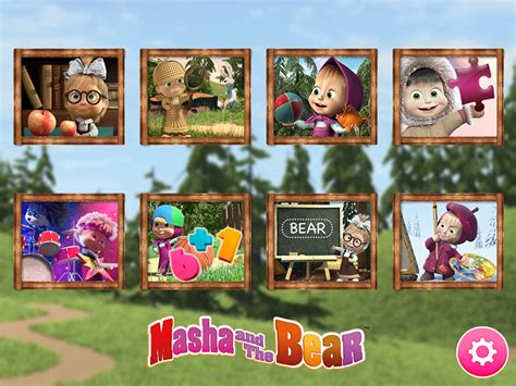 masha   bear educational games android apps