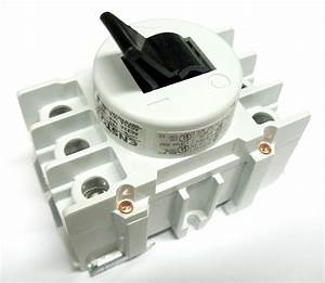Ensto 80 Amp 3 Pole Phase Disconnect Switch Toggle Type