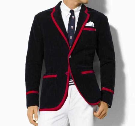 black blazer  red trim hardon clothes