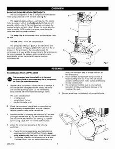 Page 5 Of Craftsman Air Compressor 921 16474 User Guide