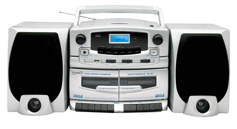 Cassette Cd Player by Portable Mp3 Cd Player Dual Cassette Recorder Am Fm Radio