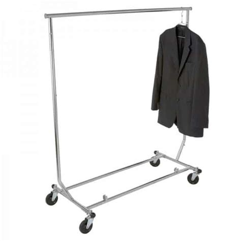 rolling garment rack garment rack collapsible rolling cooke sales
