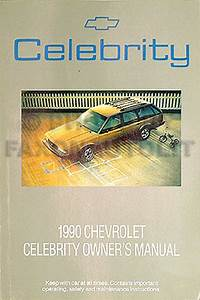 1990 Celebrity Wagon  U0026 6000 Repair Shop Manual Original