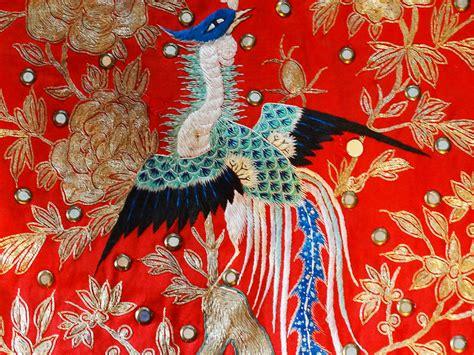 elegant artifacts antique chinese vestment silk