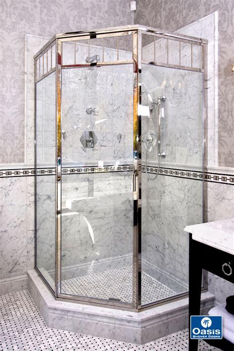 oasis shower doors and semi framed glass shower doors boston ma