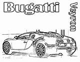 Bugatti Coloring Pages Printable Cars Chiron Veyron Template Sports Print Ferrari Boys Bug Super Lamborghini Vehicles sketch template