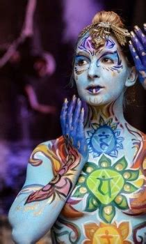 fantasy fest body painter  orlando face painting