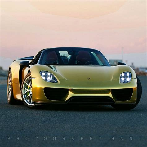 gold porsche truck gold porsche 918 spyder in saudi arabia the saudi arab