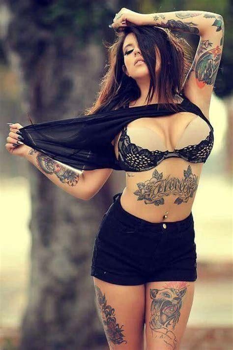Tattooed Skinny Girl Amateur