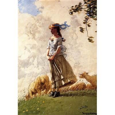 Winslow HomerIn Autumn WoodsTutt'Art@Pittura
