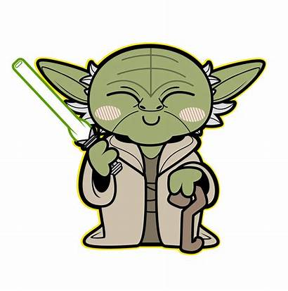 Yoda Clipart Wars Starwars Halloween Tiefighters Pumpkin