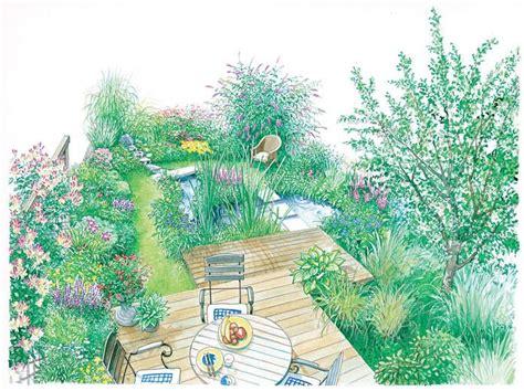 Garten Gestalten Zeichnung gestaltungsideen f 252 r kleine g 228 rten garten