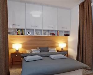 Bilder über Bett : 30 kleine schlafzimmer die modern und kreativ gestaltet sind ~ Watch28wear.com Haus und Dekorationen