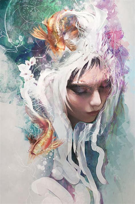 awe inspiring digital illustration art examples