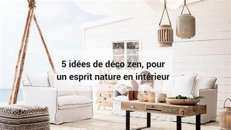 idees de deco zen pour  esprit nature en interieur