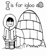Igloo Coloring Eskimo Drawing Template Pages Clipartmag Getdrawings Printable Getcolorings sketch template