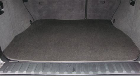 High Quality Black Boot Mat To Fit Peugeot 206