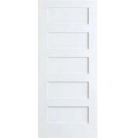 custom interior doors home depot bay 32 in x 80 in white 5 panel shaker solid
