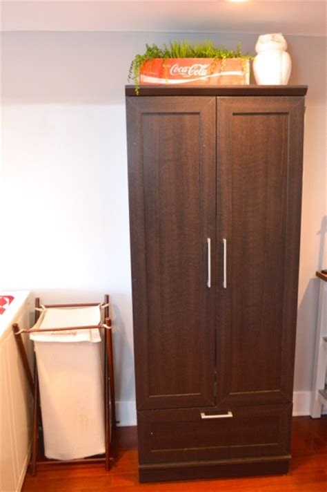 wardrobe   storage  small spaces newlywoodwards