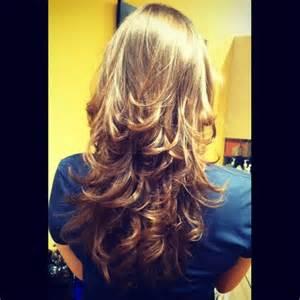 Layered Haircuts for Long Hair Back View
