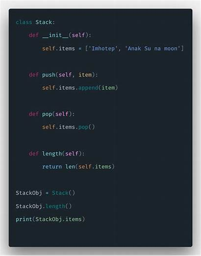 Python Stack Example Tutorial Data Create Structures
