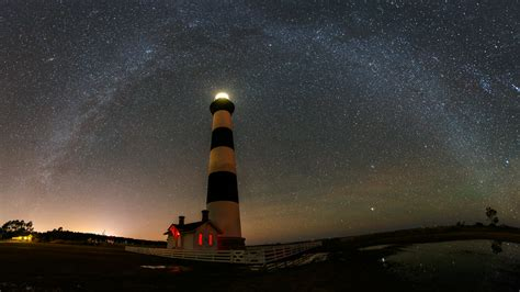 bodie island lighthouse  milky  david worthington