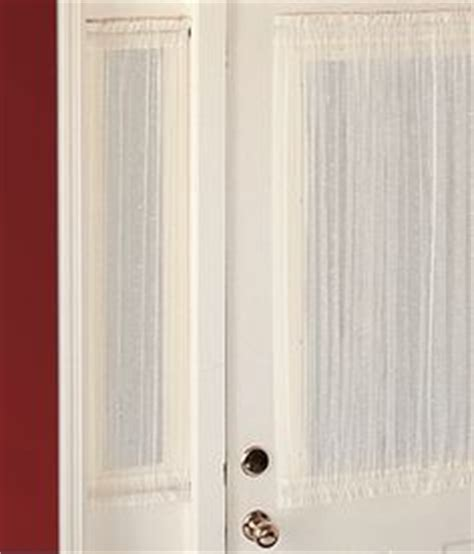 1000 ideas about sidelight curtains on door
