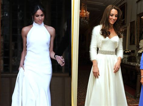 Comparing Meghan Markle And Kate Middleton's Reception Dresses Funny Wedding Countdown Memes Calendar Online Page Jewelry Dubai With Photo Display Giveaways Store In Davao City Sign Ireland