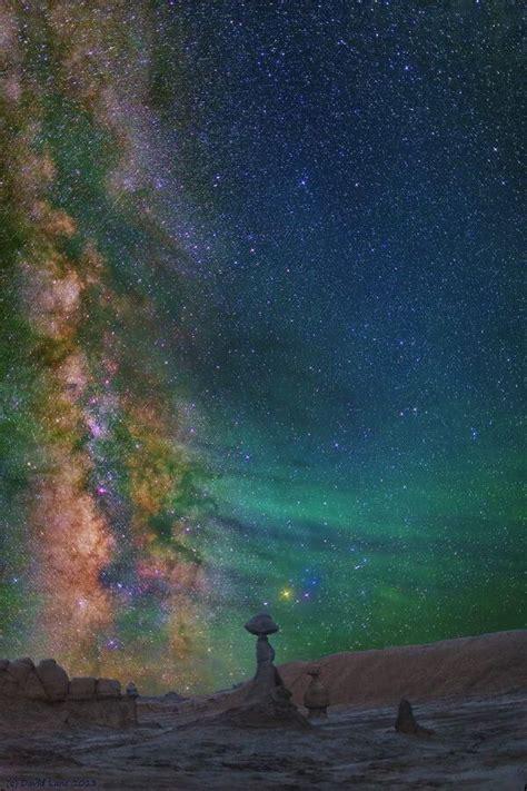 Milky Way Goblin Valley State Park Green River Utah