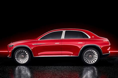 This Is The Vision Mercedes-maybach Ultimate Luxury Concept