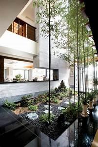 Jardin Japonais Interieur : id es de jardin zen ~ Dallasstarsshop.com Idées de Décoration