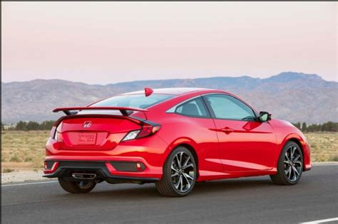 2020 Honda Civic Si Sedan 2020 honda civic si coupe price and interior 2019 2020