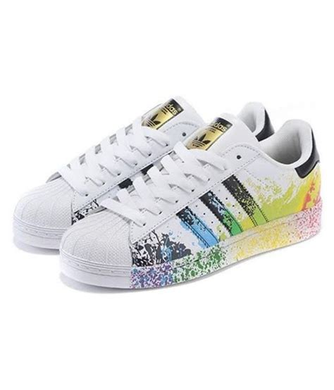 colorful addidas adidas superstar splash sneakers multi color casual shoes