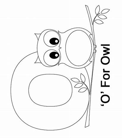 Letter Coloring Pages Toddler Learn Sheet Sheets