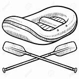 Rafting Raft Drawing Paddle Whitewater Sketch Canoe River Insignia Clipart Illustration Doodles Doodle Vector Getdrawings Clip Kayaking Canoeing Visit Painting sketch template
