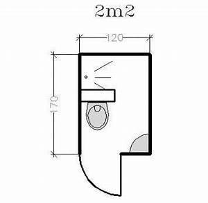 Plan Petite Salle De Bain : plan pour salle d 39 eau et petite salle de bains de 2 5m conseils d 39 architectes c t maison ~ Preciouscoupons.com Idées de Décoration