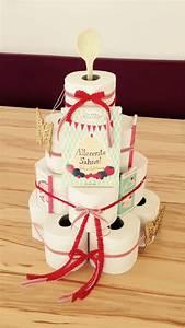 Housewarming Gift Einweihungsgeschenk WC Papier Torte